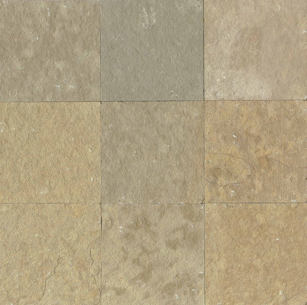 French vanilla los angeles slate flooring tile 16x16 for Flooring los angeles
